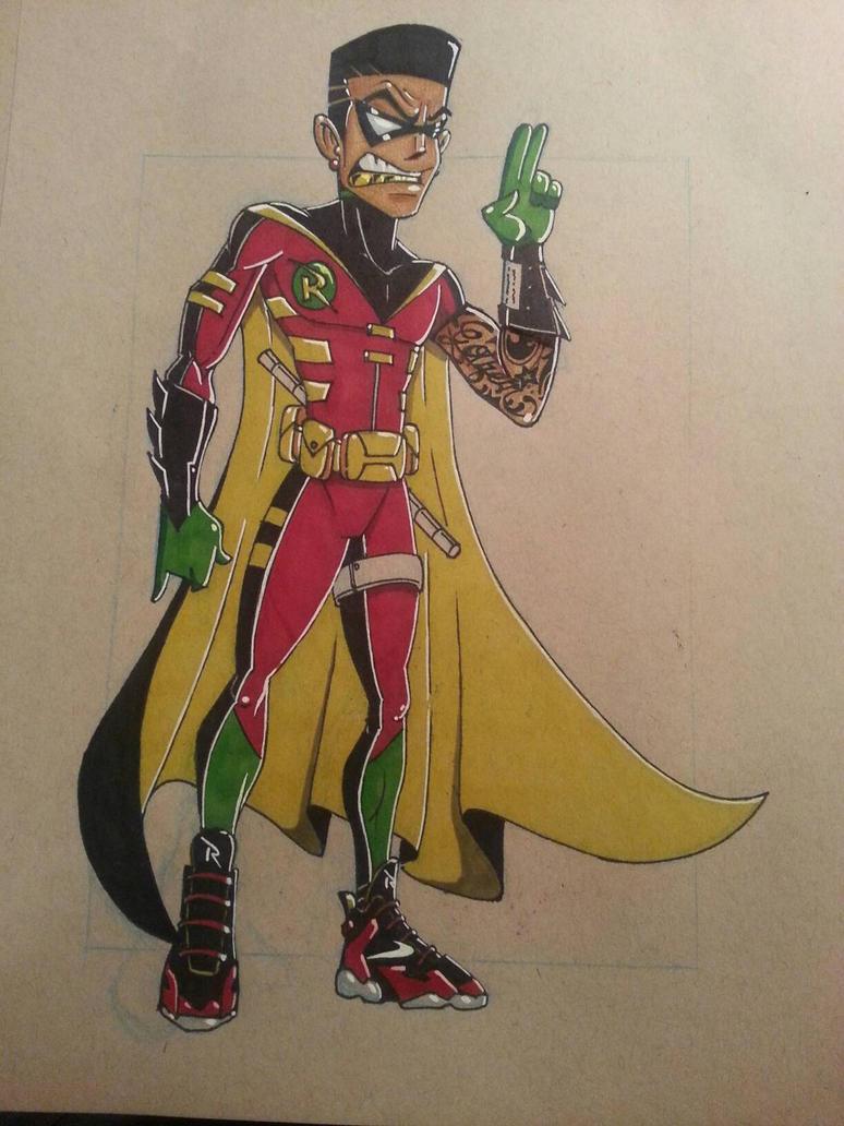 Trill Robin by ecoe3