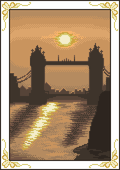 Postcards - London at sunset by RBRNNova