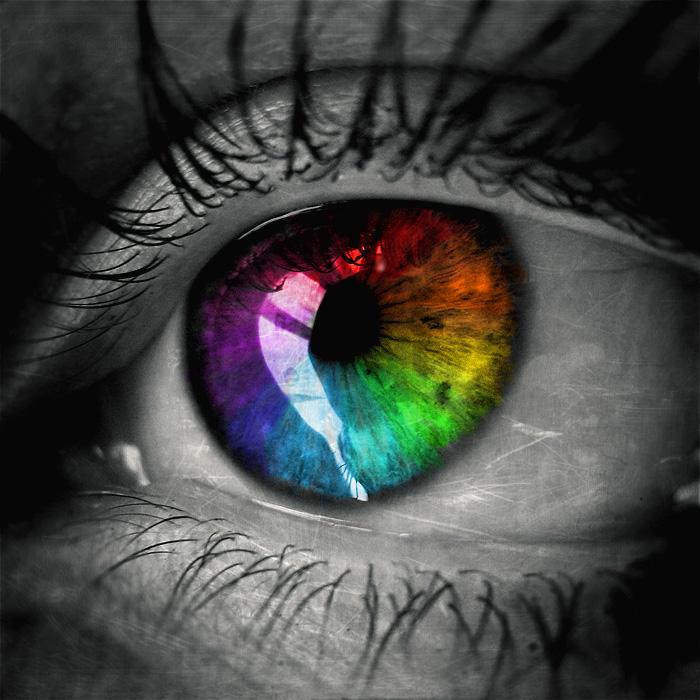 Very Cool Eye Wallpaper: Another Rainbow Eye By XXxVelvetBloodxXx On DeviantArt