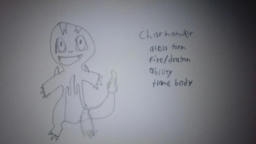 Charmander alola form by ksuniverse