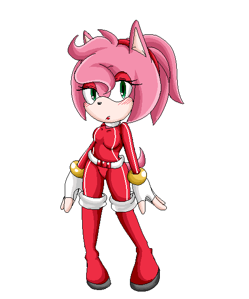 :amy rose: by amaichan