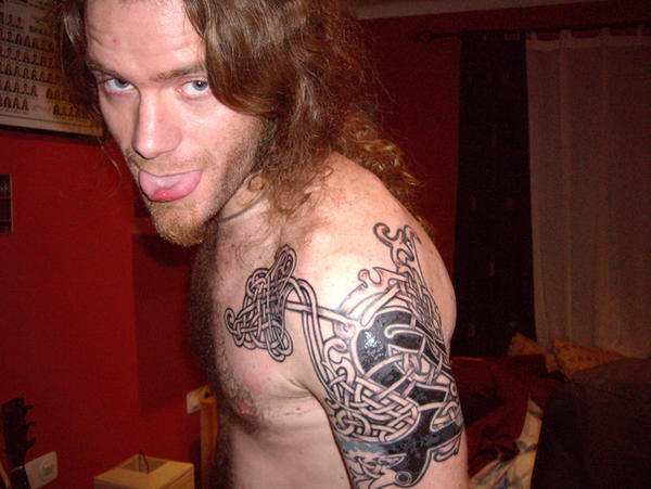 My viking-celtic tattoo