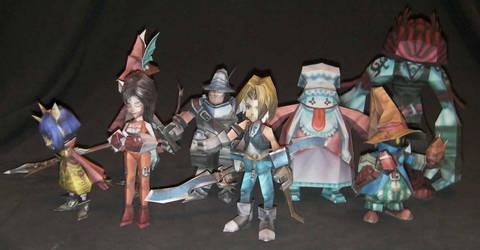 Final Fantasy IX Party by Kaizo107
