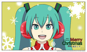 Hatsune Christmas 2009 by Shenhua