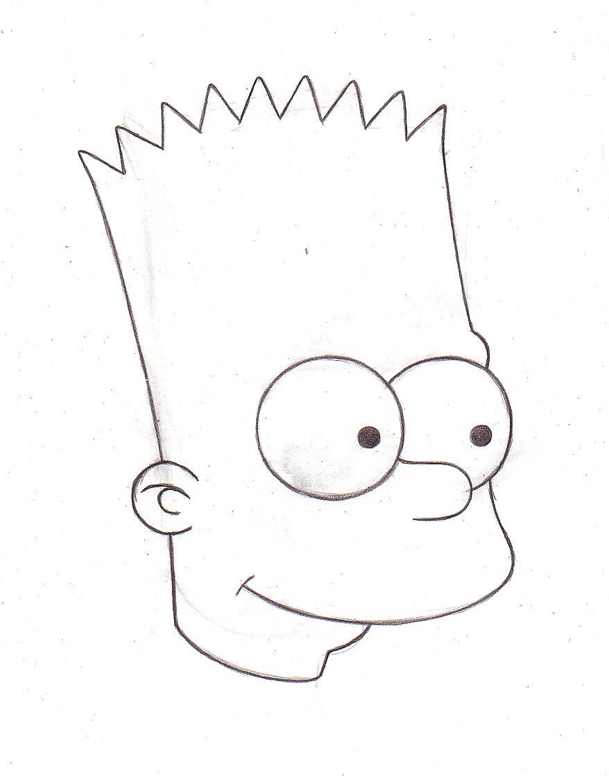 How To Draw The Simpsons Style