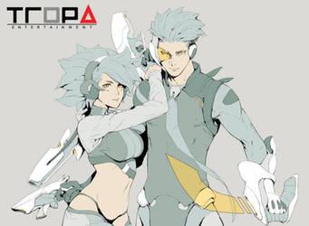 Sci Fi Duo by Alseymoure