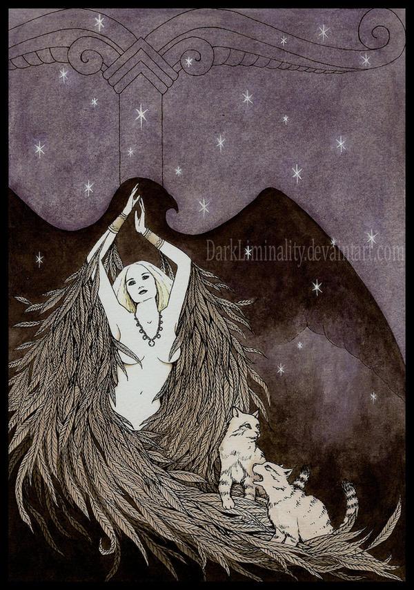 freya by darkliminality on deviantart