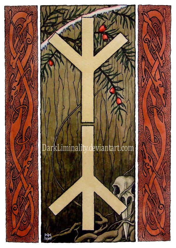 Rune Tree Design by DarkLiminality