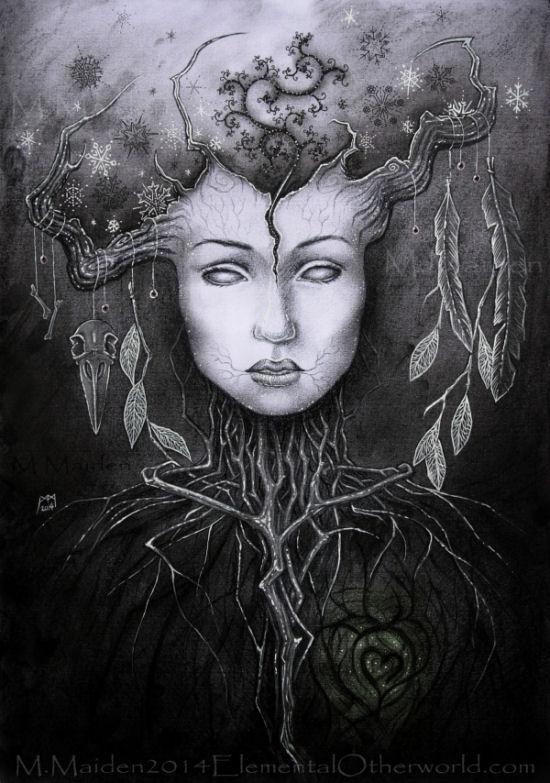 Persephone in the Underworld by DarkLiminality