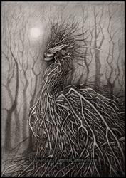 Queen of Sticks by DarkLiminality