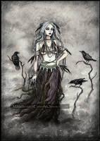 The Crow Witch by DarkLiminality