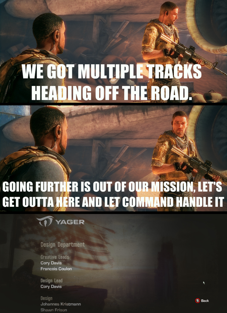 Spec Ops - The Line, The Cancelled/Cut ending. by xXWarrior250Xx