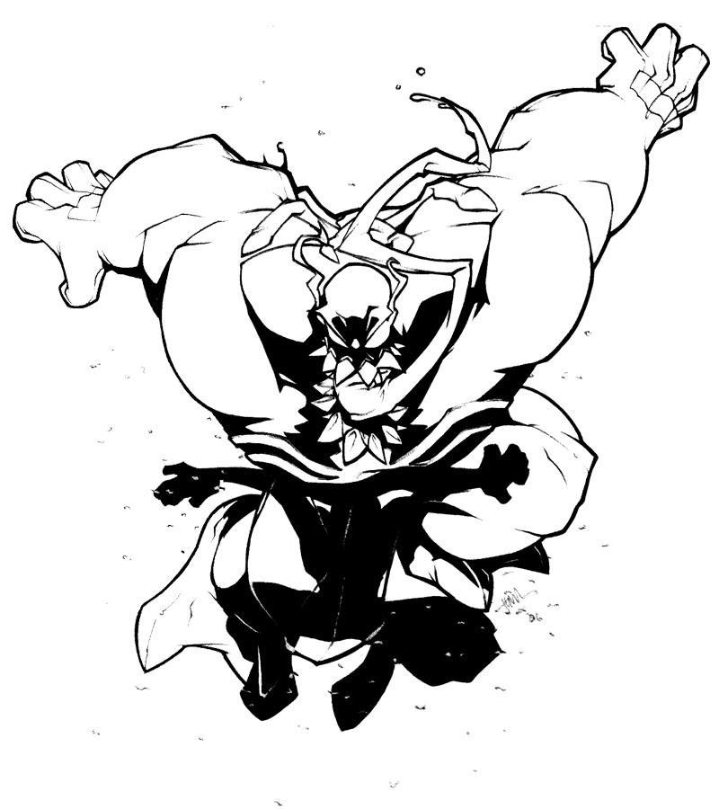 Venom yarg by SuperUndiesMan