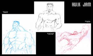 Hulk Jam... by SuperUndiesMan
