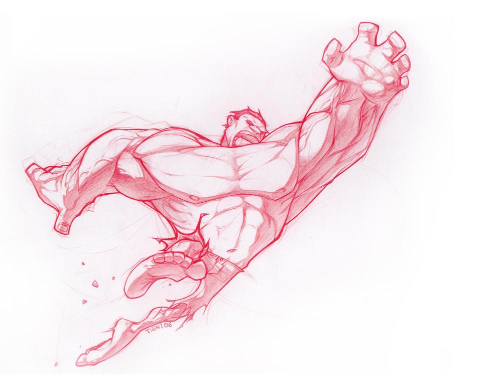 "Hulk ""finished"" by SuperUndiesMan"