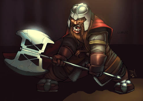 Gimli...colours by Bakanekonei