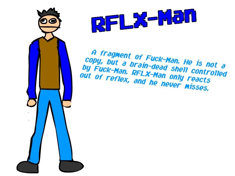 RFLX-Man Ref Sheet by PhiTuS