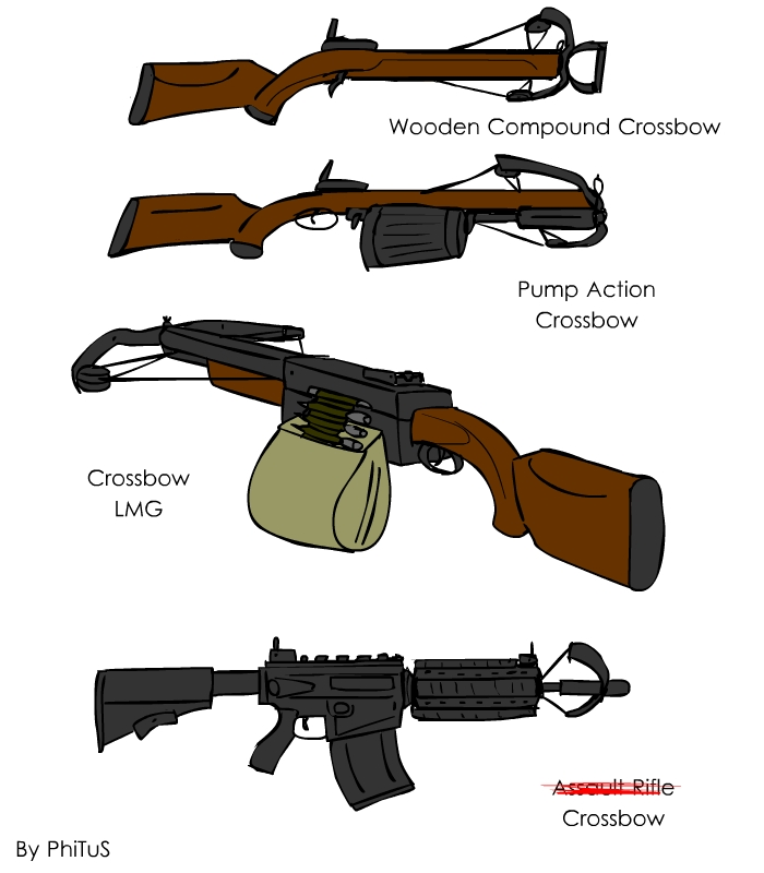 Crossbow Ideas by PhiTuS on DeviantArt
