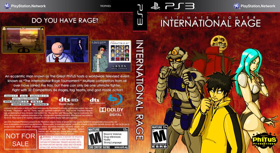 International Rage PS3 Box Art by PhiTuS