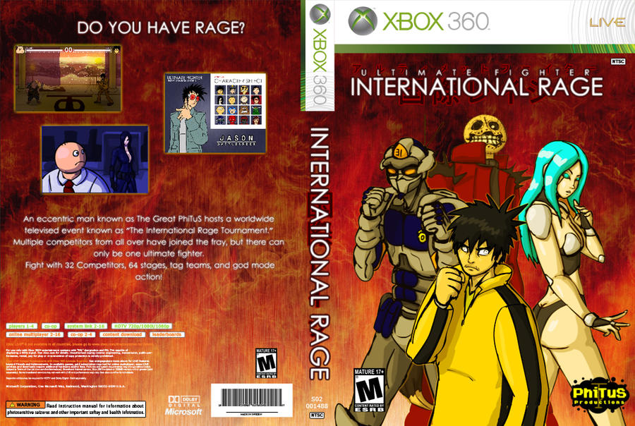 International Rage 360 Box Art by PhiTuS