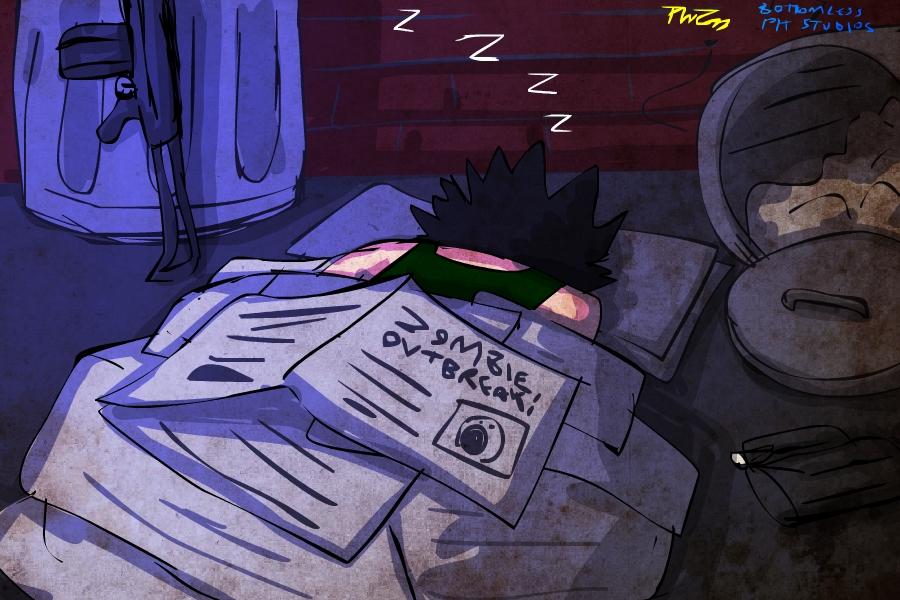 Gittin Ma Sleep Awn by PhiTuS