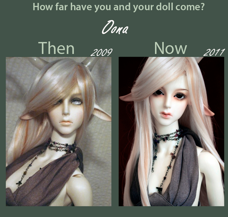Dolly Update Meme - Oona by Sheilagold