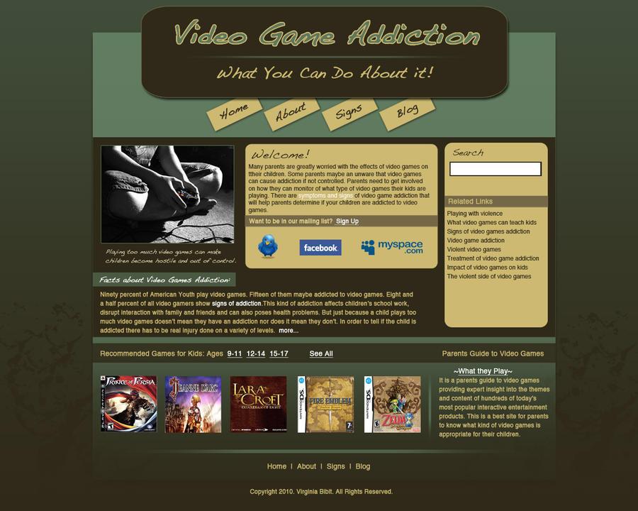 Video Game Addiction Statistics Video Game Addiction