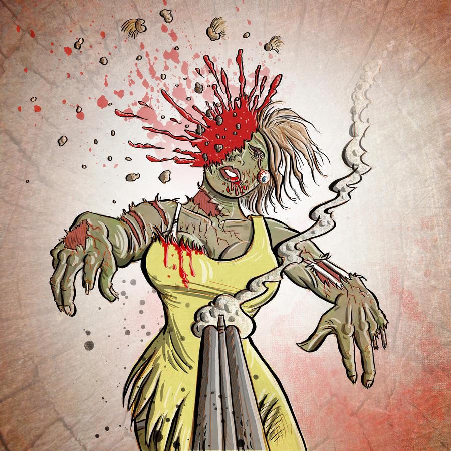 Zombie Head Shot