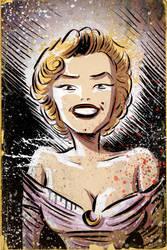 Marilyn Monroe by sonburnt777