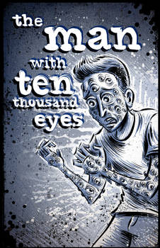 The Man with Ten Thousand Eyes (cover page)