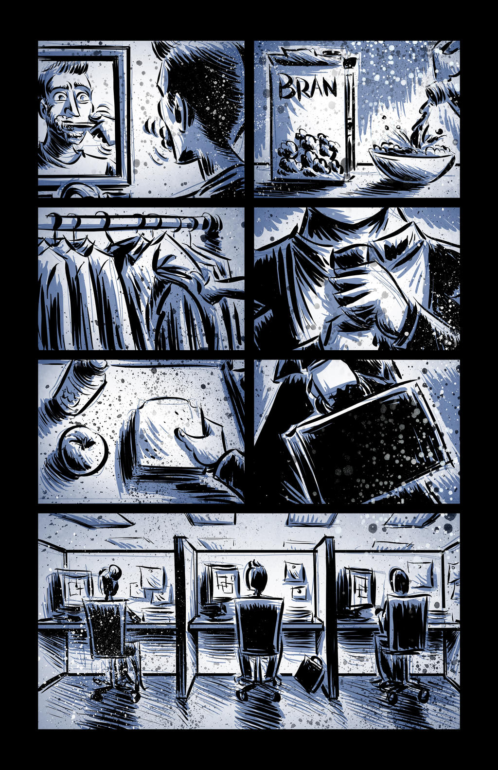 The Man with Ten Thousand Eyes (page 1)
