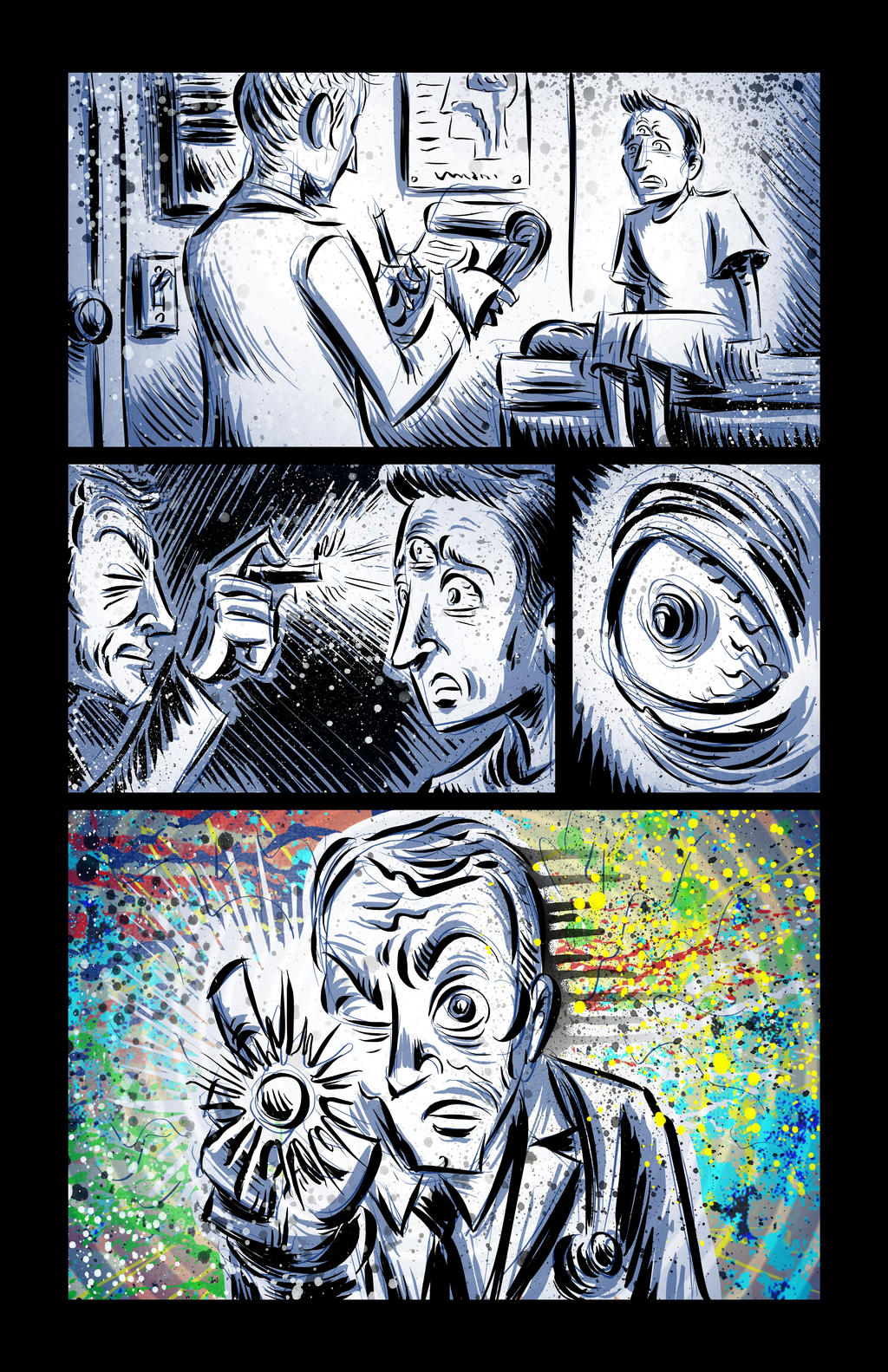 The Man With Ten Thousand Eyes Page