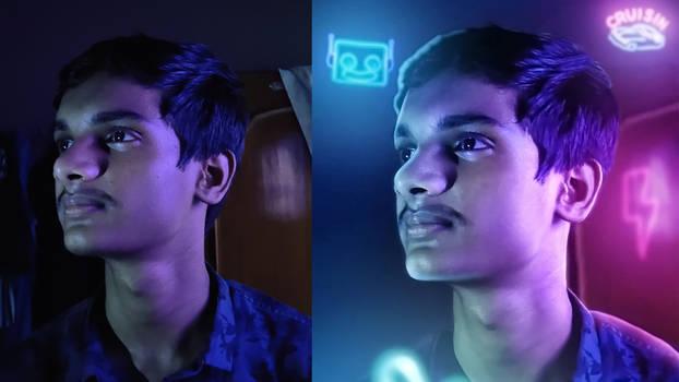 Dark Room to Neon vibes