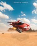 Flying-car by Shagun by shagunn