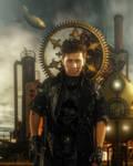 Steampunk-Warrior