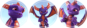 Skylanders Spyro Divider by StarstruckDoodles