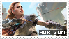 (f2u) Horizon- Zero Dawn Stamp by StarstruckDoodles