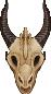 (f2u) small draggo skull by StarstruckDoodles