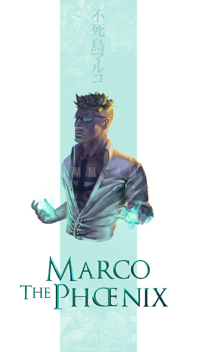 One Piece Fan Art - Marco The Phoenix