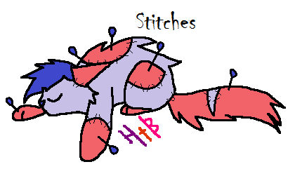 Stitches by DerpyHooves450
