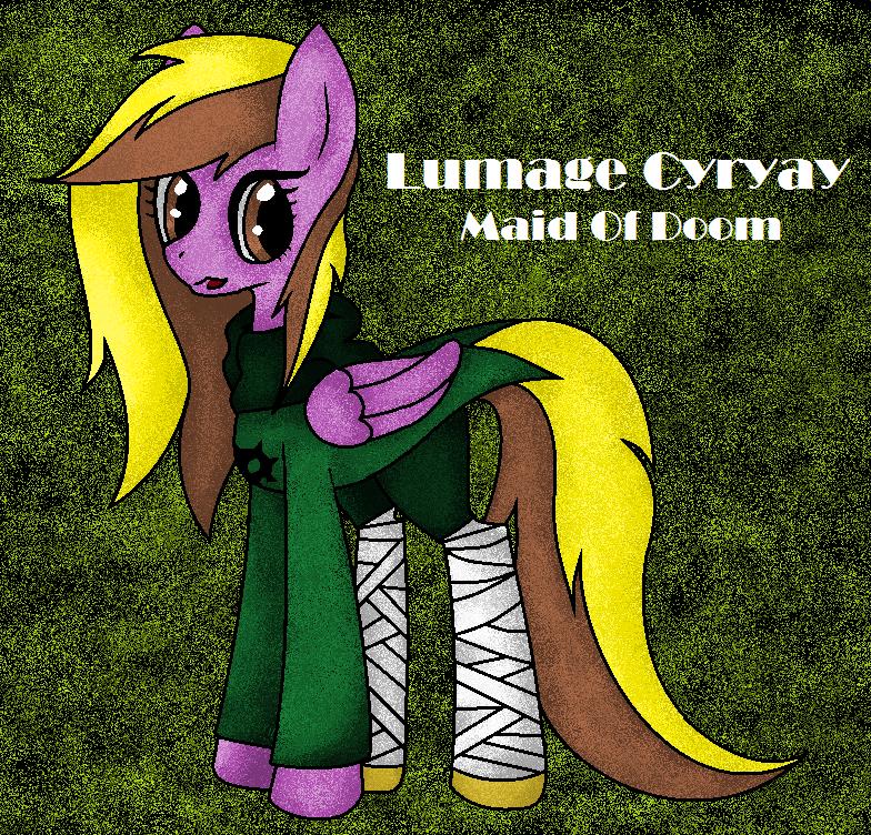 Lumage Cyayry - Ponysona by DerpyHooves450