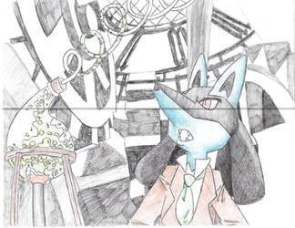 The Great Lucario Detective by 1Artyfan