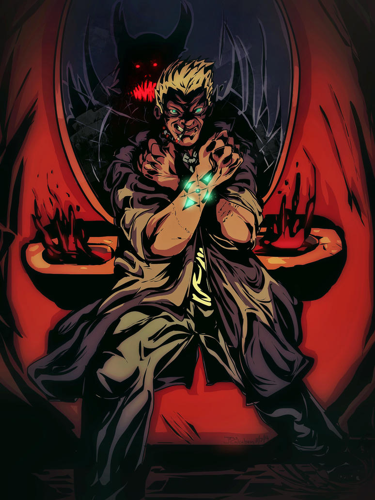 Constantine in color by JessCalcaben