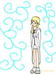Namine with coat xDD