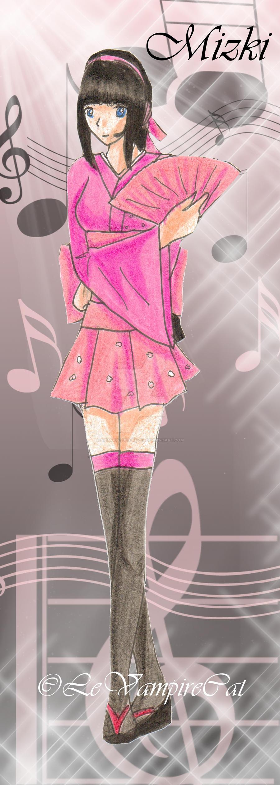 Vocaloid Mizki by Grimoire-Des-Reves