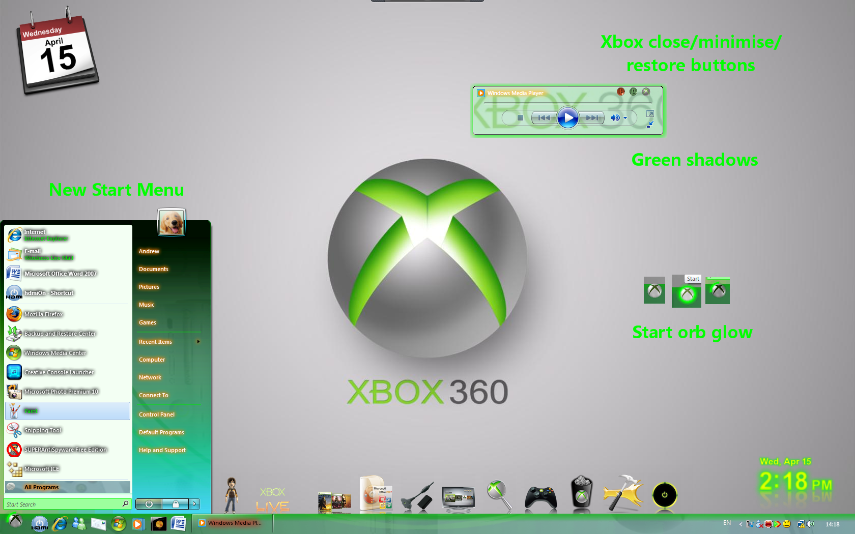 Xbox 360 for vista by andy-thebettertwin