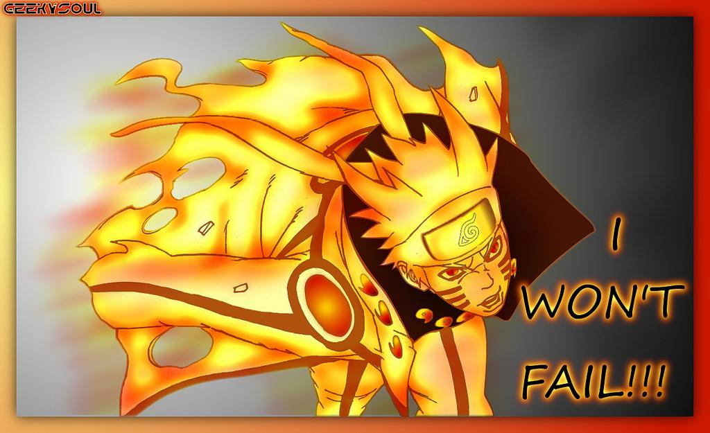 Naruto Bijuu Mode By Geekysoul On Deviantart