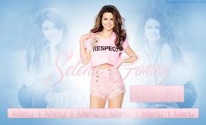 Free Selena Gomez Header PSD