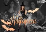 Ashley Tisdale Free PSD HALLOWEEN Header