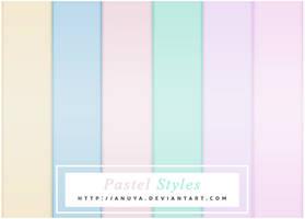 6 Free Pastel Styles by Anuya